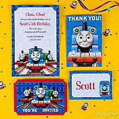 Thomas Party Invitation Ideas