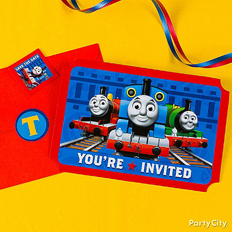 Thomas the Tank Engine Party Ideas: Decorations