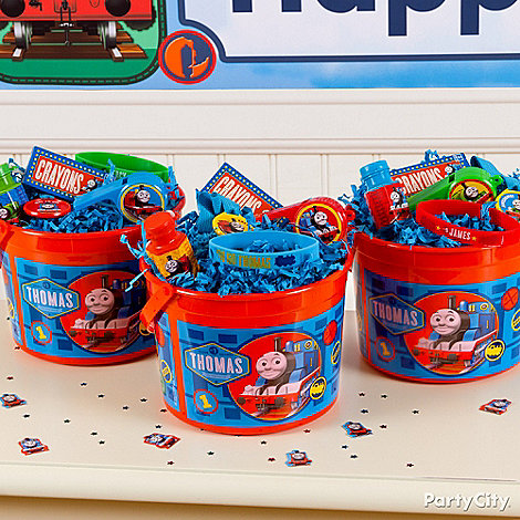 Thomas the Tank Engine Party Ideas: Favors
