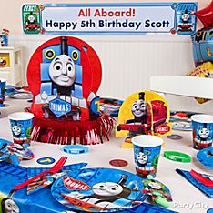 Thomas Party Decorating Ideas