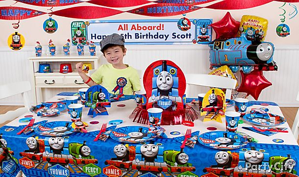 Thomas Party Ideas!