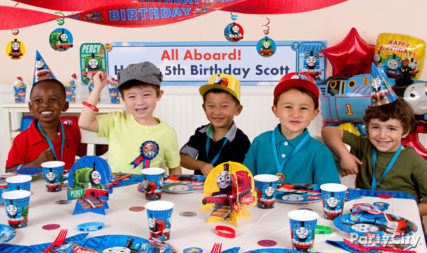 Thomas & Friends Party Ideas