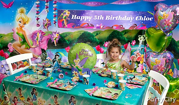 Tinker Bell Party Ideas!