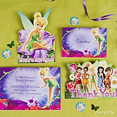 Tinker Bell Party Invitation Ideas