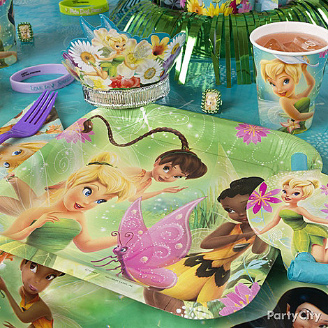Tinker Bell Party Ideas: Decorating