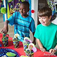 Teenage Mutant Ninja Turtles Party Favor Ideas