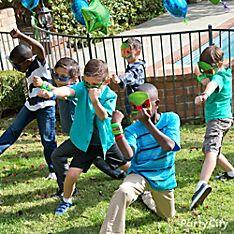 Teenage Mutant Ninja Turtles Party Dress-Up Ideas