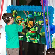 Teenage Mutant Ninja Turtles Party Games Ideas