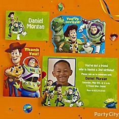 Toy Story Party Invitation Ideas