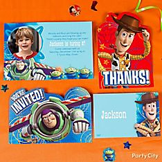 Toy Story Party Invitation Ideas