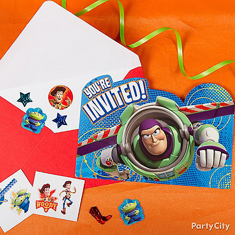 toy story party ideas  toy story birthday party ideas  party city, Party invitations