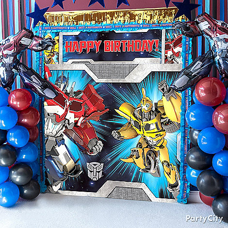 Transformers Party Ideas: Decorations