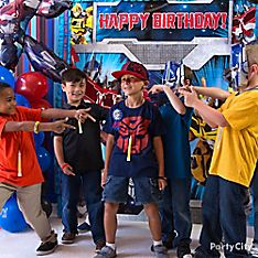 Transformers Party Game & Activity Ideas