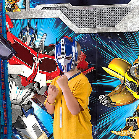 Transformers Party Ideas: Dress Up