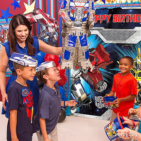 Transformers Party Ideas: Games & Activities