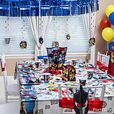 Transformers Party Decoration Ideas