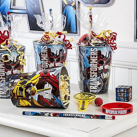Transformers Party Ideas: Favors