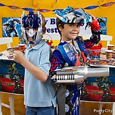 Transformers Party Dress-Up Ideas