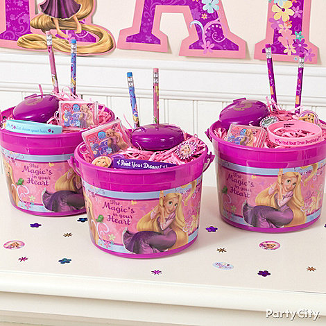Tangled Party Ideas: Favors