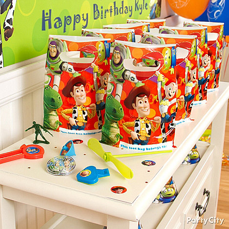 Toy Story Party Ideas: Favors