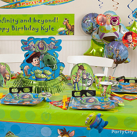 Toy Story Party Ideas: Decorating