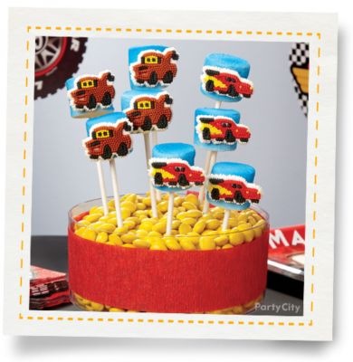 Cars Marshmallow Pops How To Party City