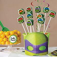 Teenage Mutant Ninja Turtles Party Food Ideas