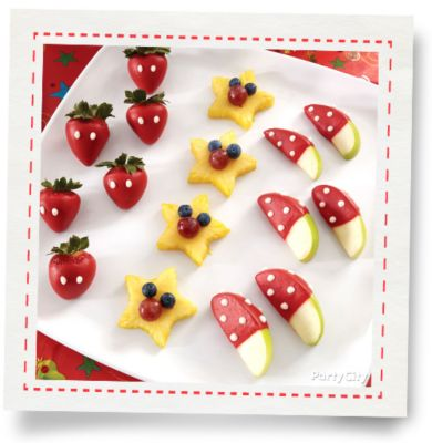 Mickey Mouse Candy Dipped Strawberries How To Party City