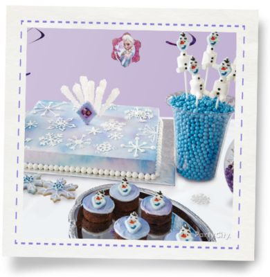 Frozen Birthday Cake How To Party City