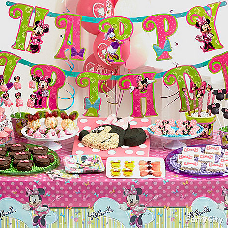 Minnie Mouse Party Ideas: Food