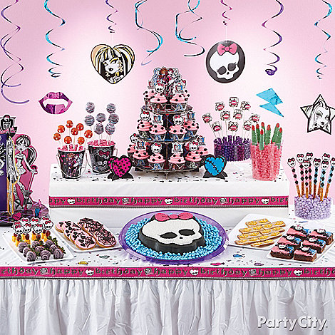 Monster High Party Ideas: Food