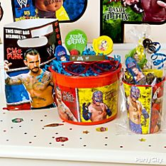 WWE Party Favor Ideas