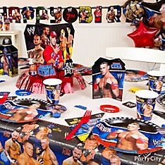 WWE Party Decorating Ideas