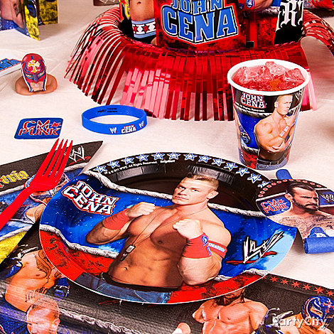 WWE Party Ideas: Decorations