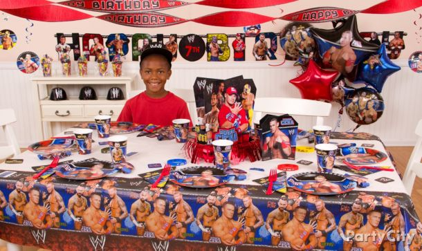 WWE Party Ideas Guide
