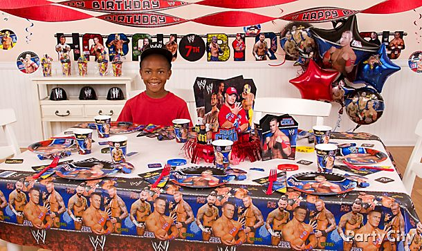 WWE Party Ideas!