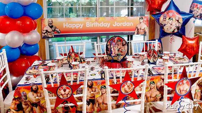Wwe Party Ideas Guide Party City