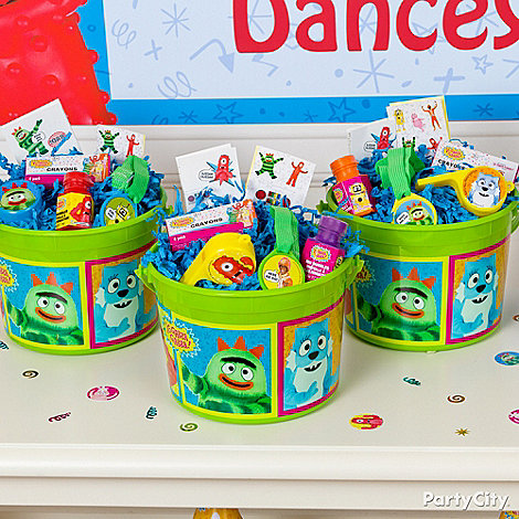 Yo Gabba Gabba Party Ideas: Favors