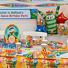 Yo Gabba Gabba Party Decorating Ideas