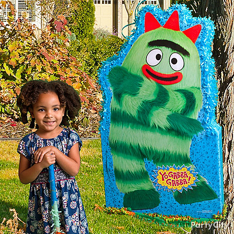 Yo Gabba Gabba Party Ideas: Decorations