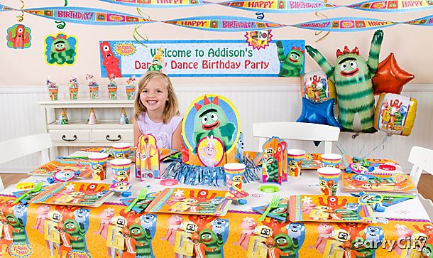 Yo Gabba Gabba <br />Party Ideas!