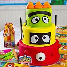 Yo Gabba Gabba Party Food Ideas