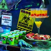Killer Zombie Apocalypse Party Ideas