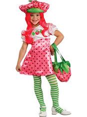 Girls Strawberry Shortcake Costume Deluxe