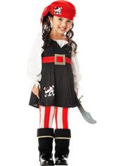 Girls Precious Pirate Costume