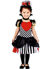 Toddler Girls Storybook Queen of Hearts Costume