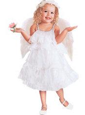 Toddler Girls Rainbow Angel Fairy Costume - Valerie Tabor Smith