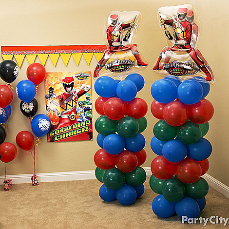 Power Rangers Party Ideas Guide Party City