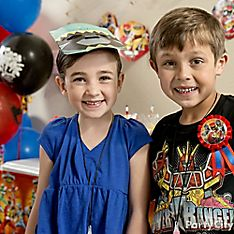 Power Rangers Party Dress-Up Ideas