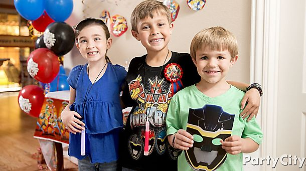 Power Rangers<br> Party Ideas!